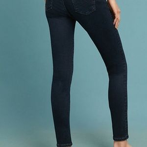 Ag Adriano Goldschmied Jeans - Anthro AG The Abbey Mid-Rise Skinny Ankle Jeans 25